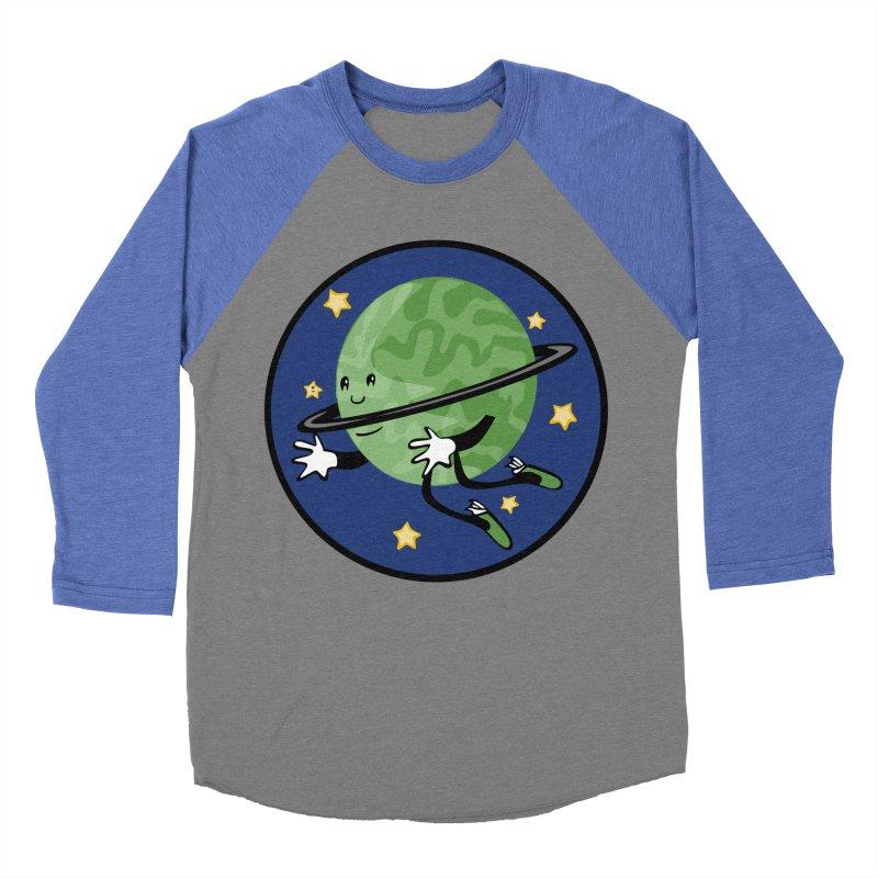 Planetary Friendship Women's Baseball Triblend T-Shirt by elledeegee's Artist Shop