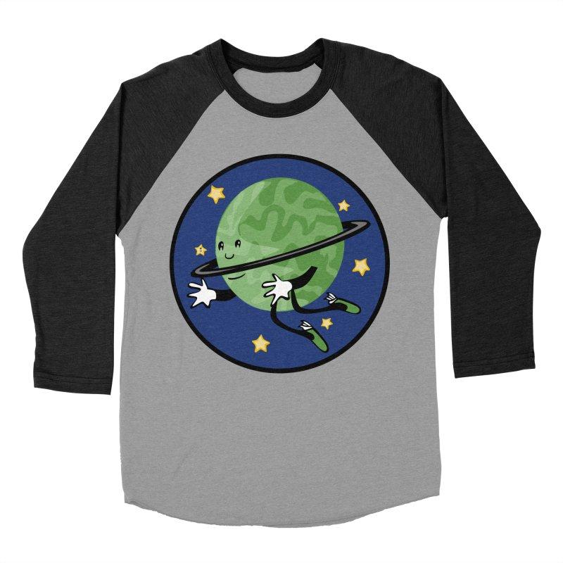 Planetary Friendship Women's Baseball Triblend Longsleeve T-Shirt by elledeegee's Artist Shop