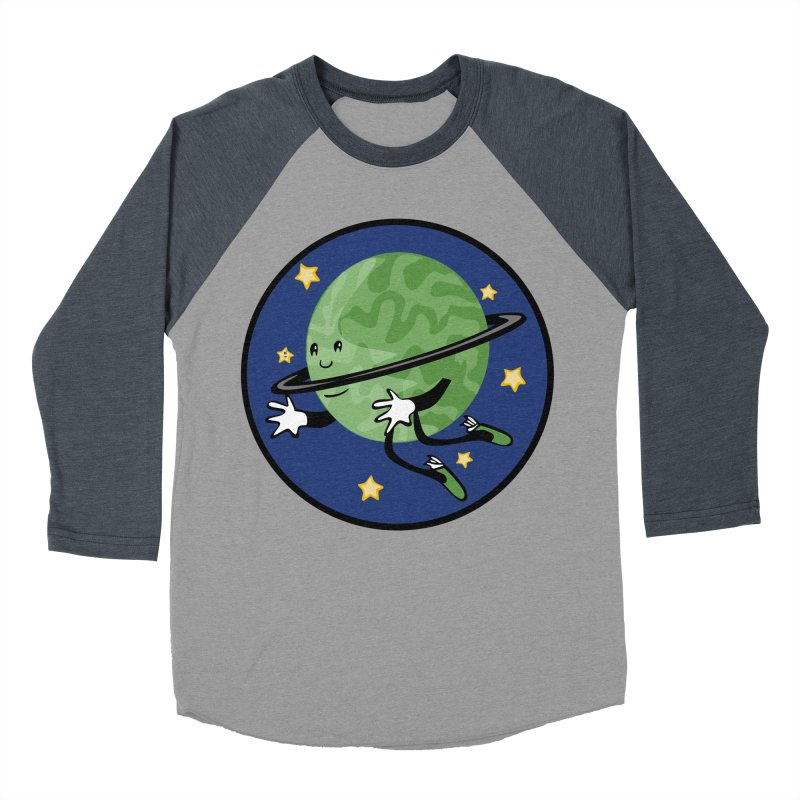 Planetary Friendship Women's Baseball Triblend Longsleeve T-Shirt by elledeegee's Artist Shop