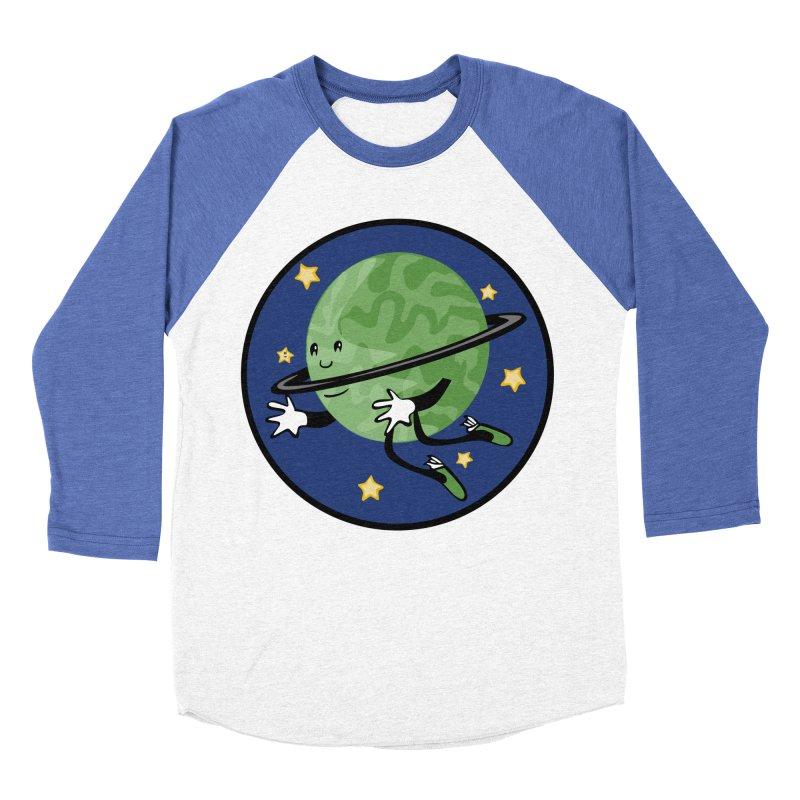 Planetary Friendship Men's Baseball Triblend T-Shirt by elledeegee's Artist Shop