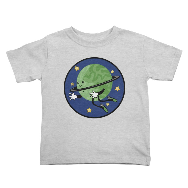 Planetary Friendship Kids Toddler T-Shirt by elledeegee's Artist Shop
