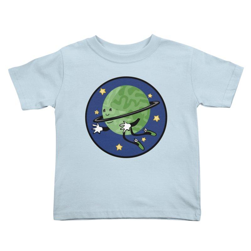 Planetary Friendship Kids Toddler T-Shirt by elledeegee's Artist Shop