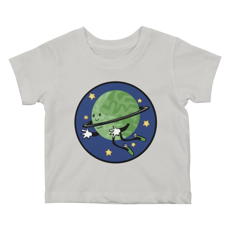 Planetary Friendship Kids Baby T-Shirt by elledeegee's Artist Shop