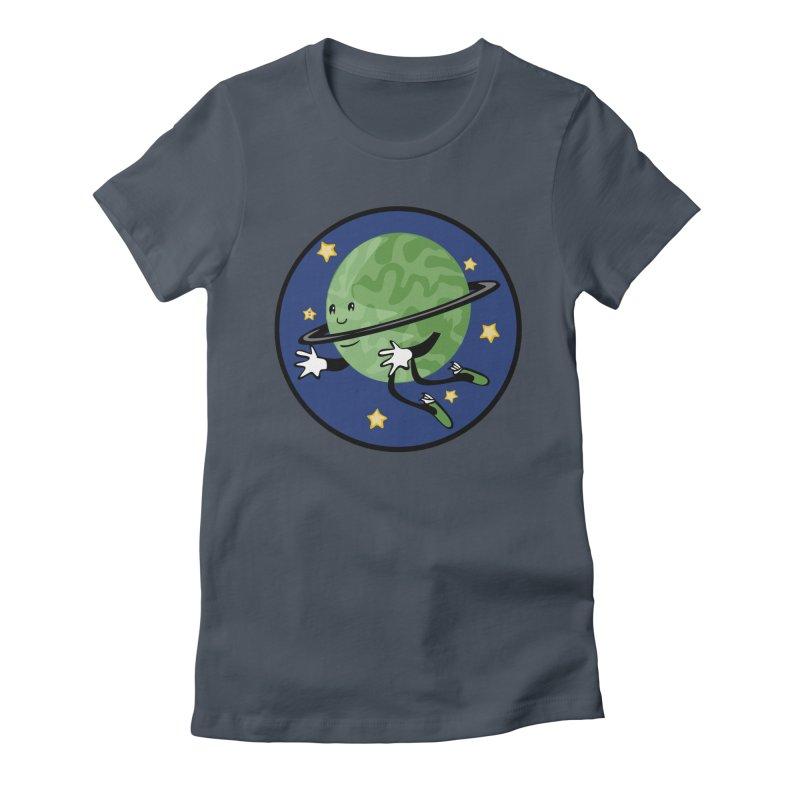 Planetary Friendship Women's T-Shirt by elledeegee's Artist Shop