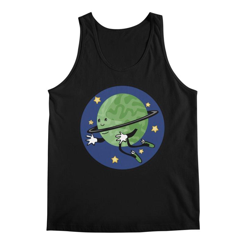 Planetary Friendship Men's Regular Tank by elledeegee's Artist Shop