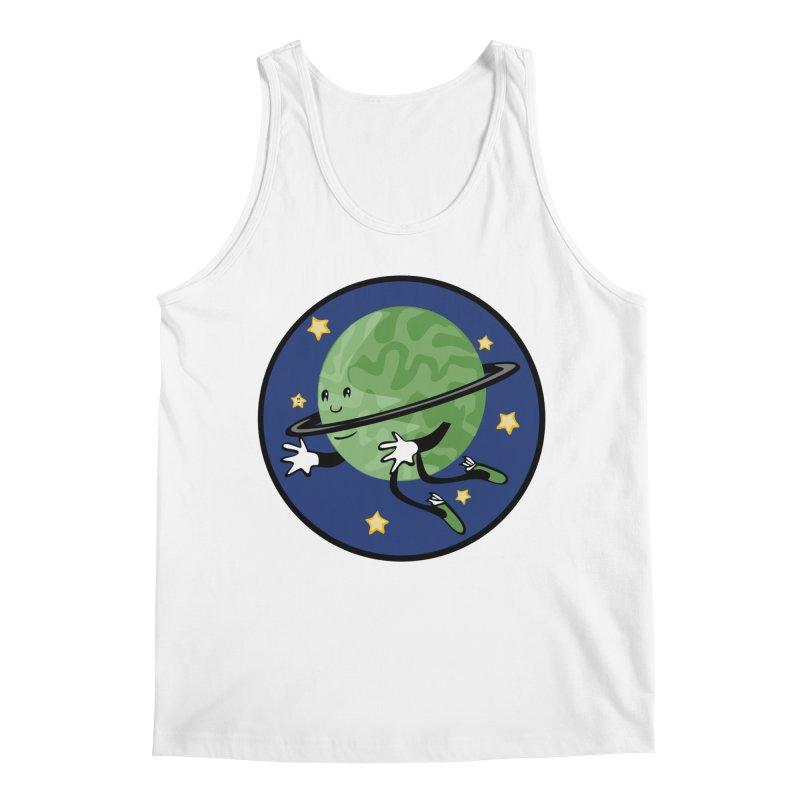 Planetary Friendship Men's Tank by elledeegee's Artist Shop