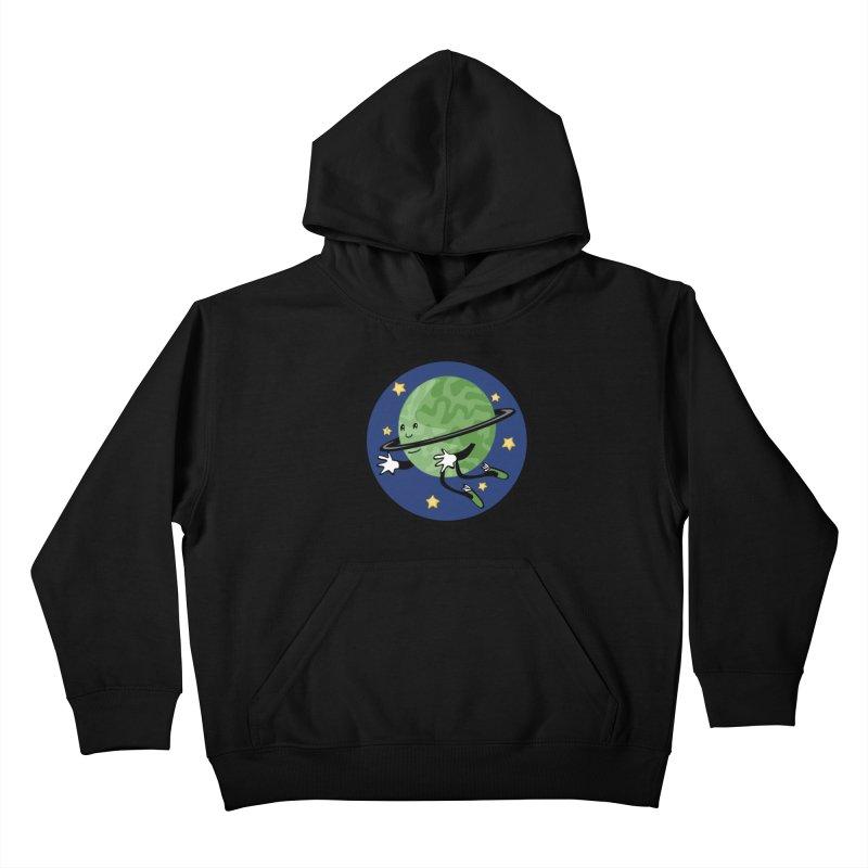 Planetary Friendship Kids Pullover Hoody by elledeegee's Artist Shop