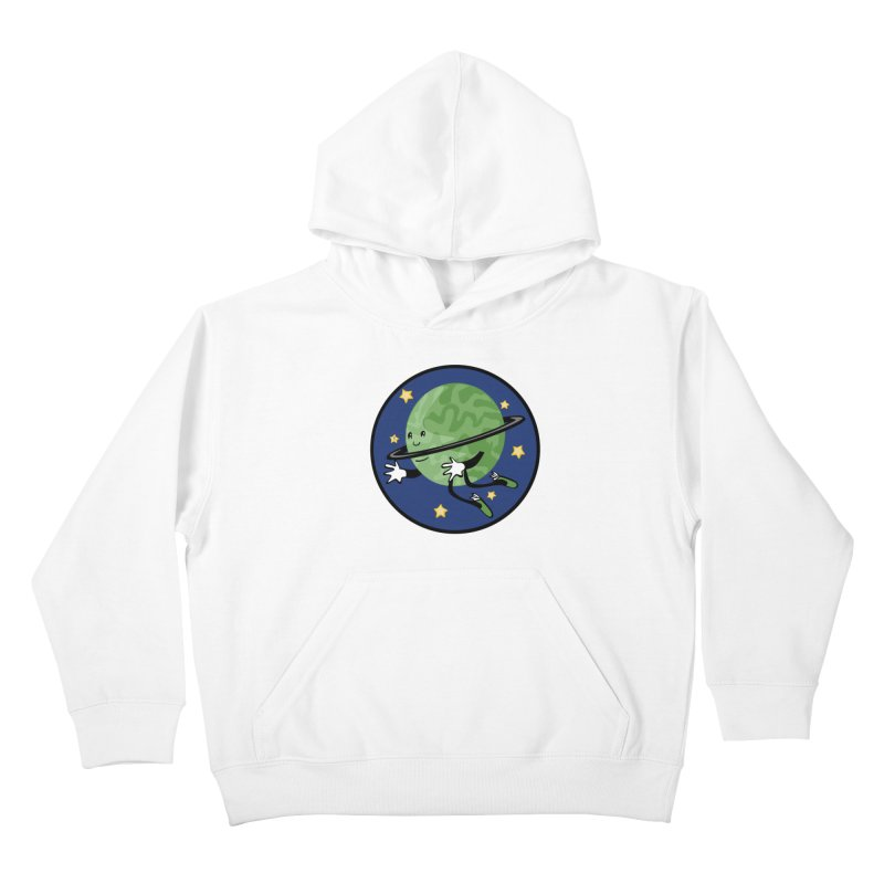 Planetary Friendship Kids Pullover Hoody by elledeegee's Artist Shop