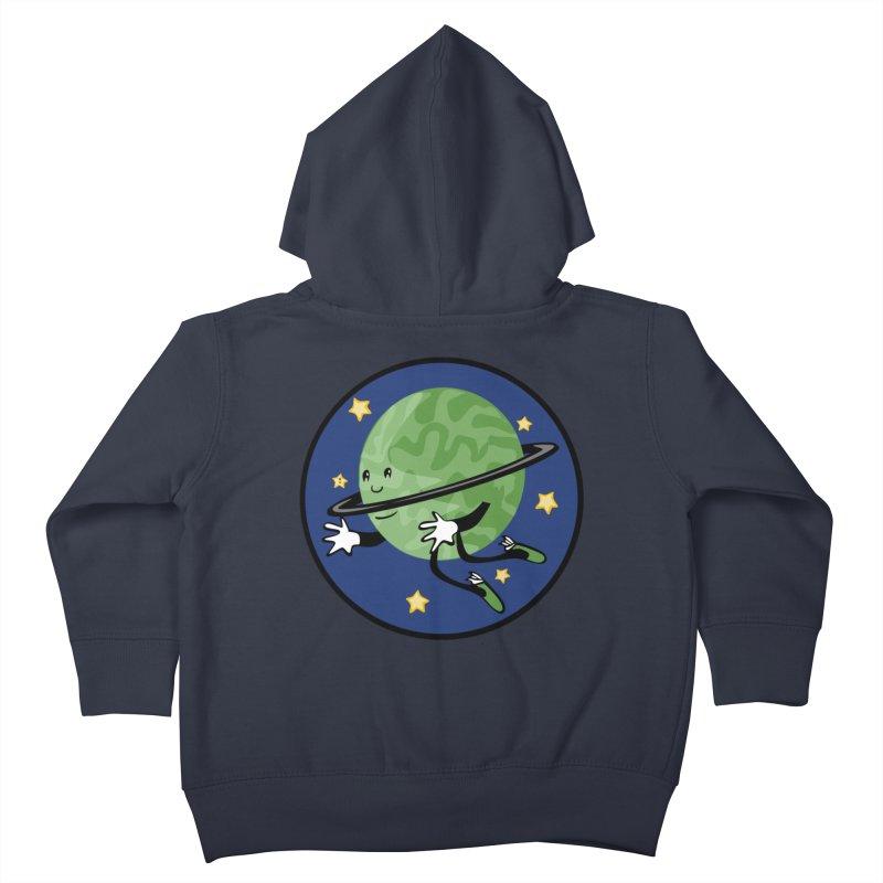 Planetary Friendship Kids Toddler Zip-Up Hoody by elledeegee's Artist Shop