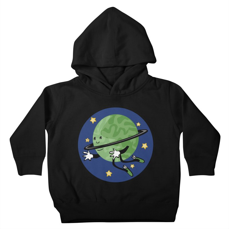 Planetary Friendship Kids Toddler Pullover Hoody by elledeegee's Artist Shop