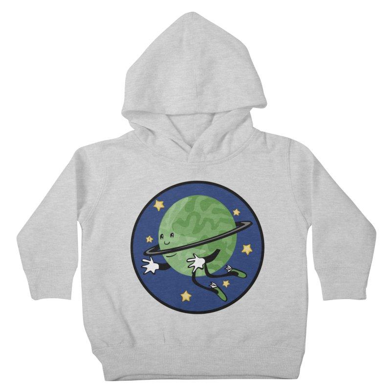 Planetary Friendship Kids Toddler Pullover Hoody by elledeegee's Artist Shop
