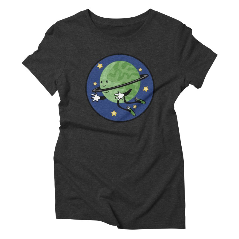 Planetary Friendship Women's Triblend T-Shirt by elledeegee's Artist Shop