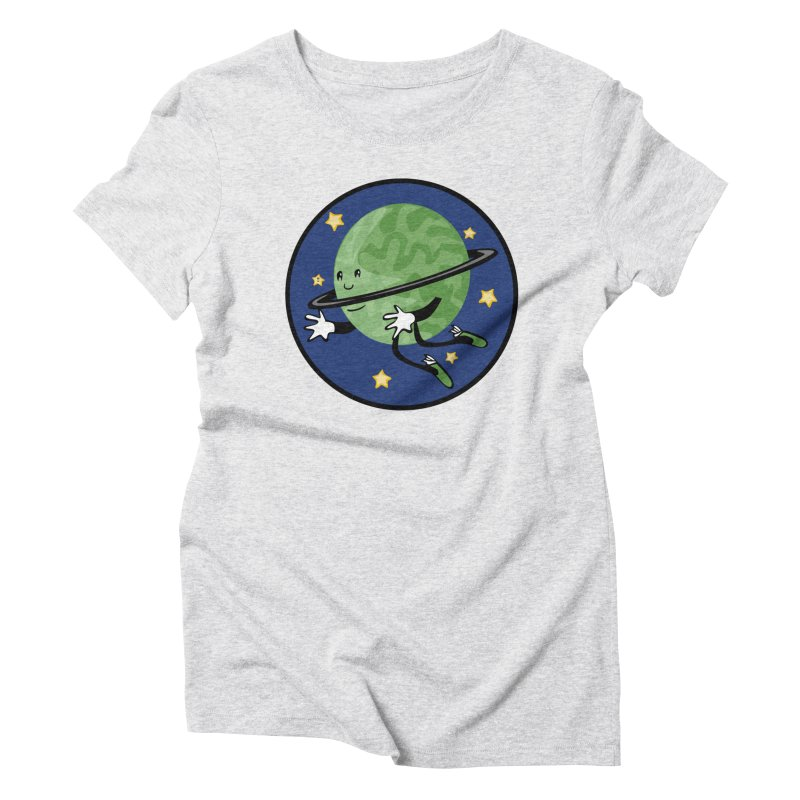 Planetary Friendship Women's T-Shirt by elledeegee's Artist Shop