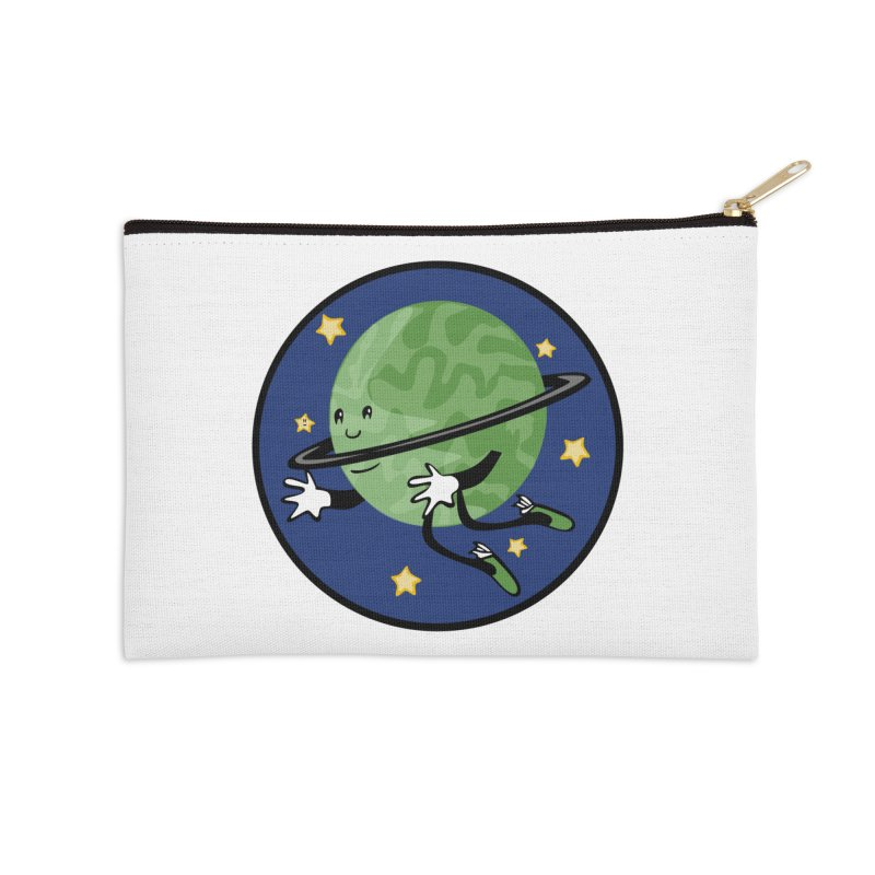 Planetary Friendship Accessories Zip Pouch by elledeegee's Artist Shop