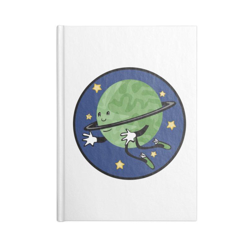 Planetary Friendship Accessories Lined Journal Notebook by elledeegee's Artist Shop