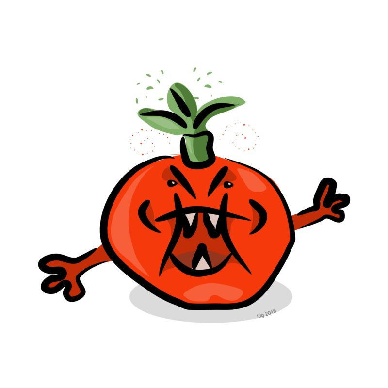 Steamed Tomato Kids T-Shirt by elledeegee's Artist Shop