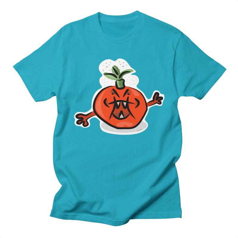 Steamed Tomato Men's Regular T-Shirt by elledeegee's Artist Shop