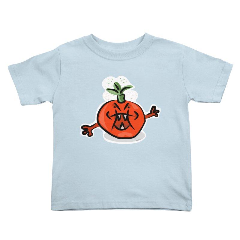 Steamed Tomato Kids Toddler T-Shirt by elledeegee's Artist Shop