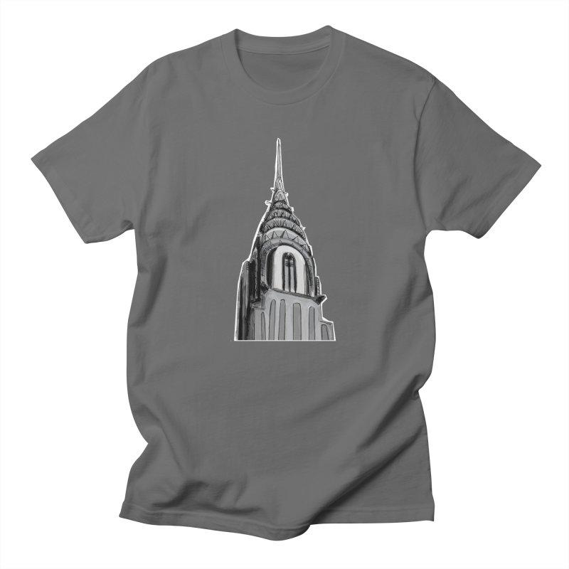 Chrysler Building Men's T-Shirt by elledeegee's Artist Shop