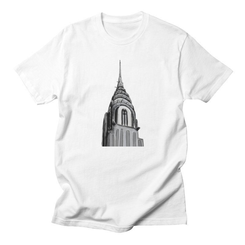Chrysler Building Men's Regular T-Shirt by elledeegee's Artist Shop