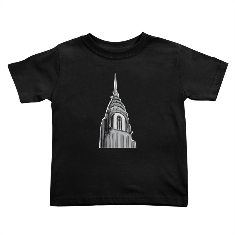Chrysler Building Kids Toddler T-Shirt by elledeegee's Artist Shop