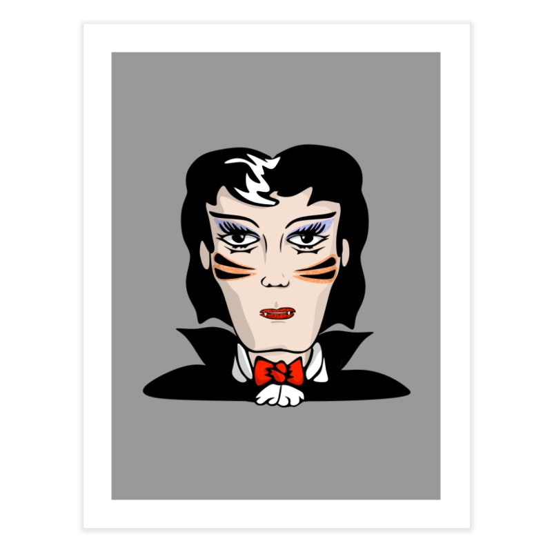 Dracula's a Drag Home Fine Art Print by elledeegee's Artist Shop