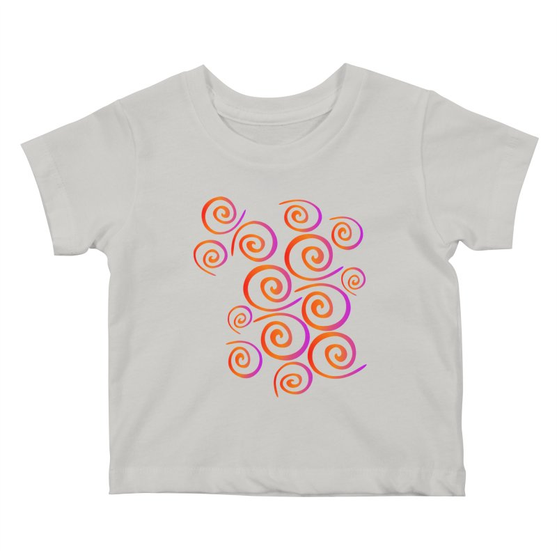Swirly Kids Baby T-Shirt by elledeegee's Artist Shop