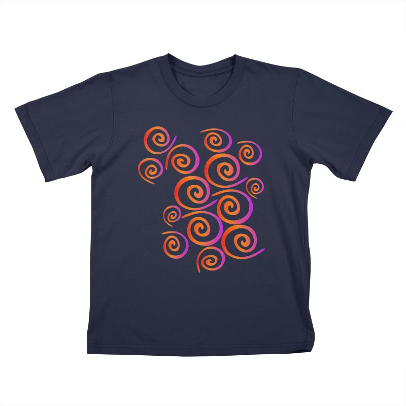Swirly Kids T-Shirt by elledeegee's Artist Shop