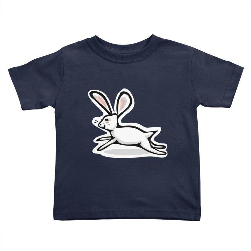 He's Late! Kids Toddler T-Shirt by elledeegee's Artist Shop