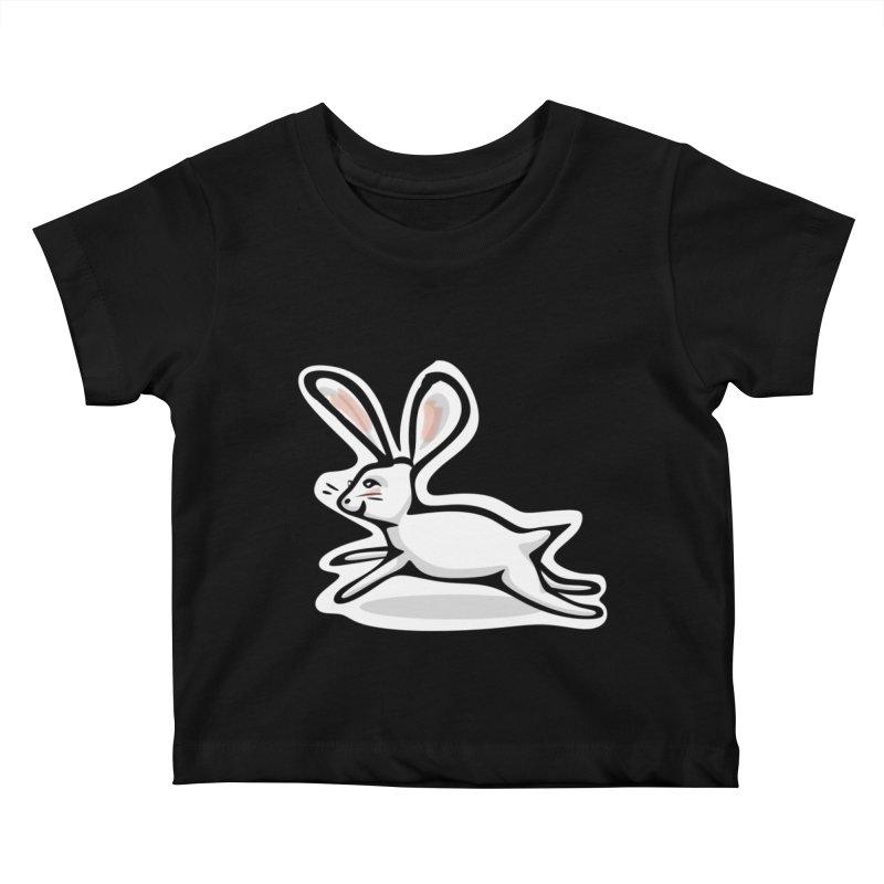 He's Late! Kids Baby T-Shirt by elledeegee's Artist Shop
