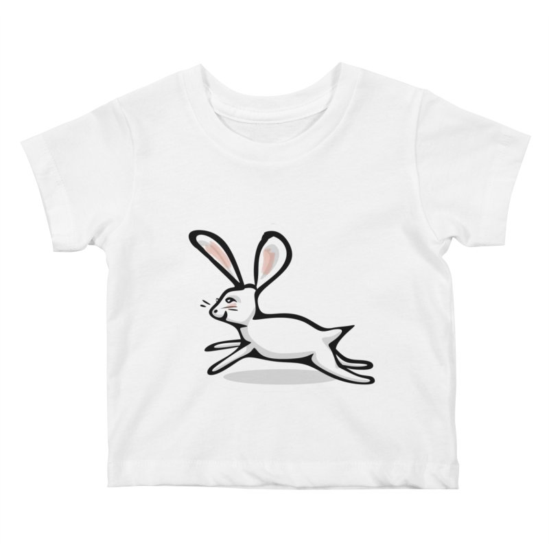He's Late! Kids Baby T-Shirt by elledeegee's Artist Shop
