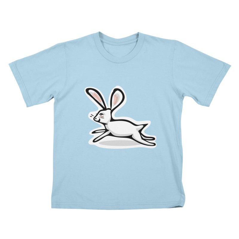 He's Late! Kids T-Shirt by elledeegee's Artist Shop