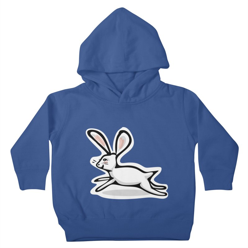 He's Late! Kids Toddler Pullover Hoody by elledeegee's Artist Shop