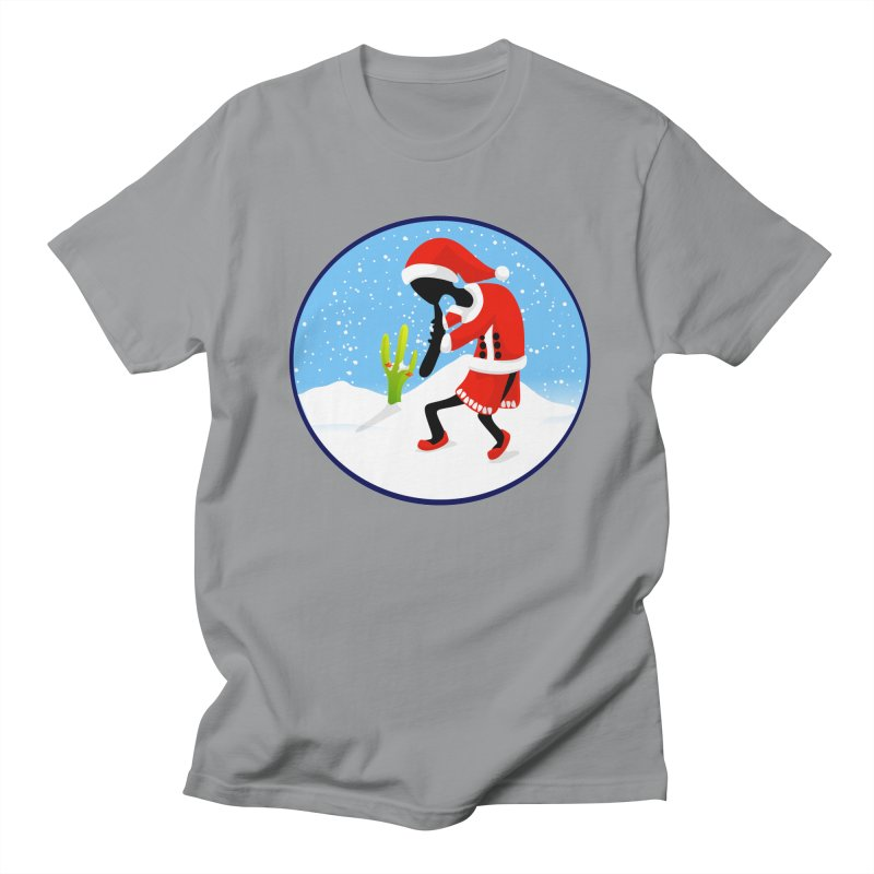 Kokopelli Santa Men's T-shirt by elledeegee's Artist Shop