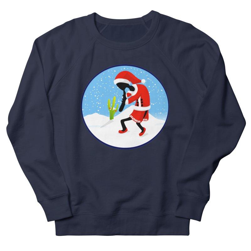 Kokopelli Santa Men's Sweatshirt by elledeegee's Artist Shop