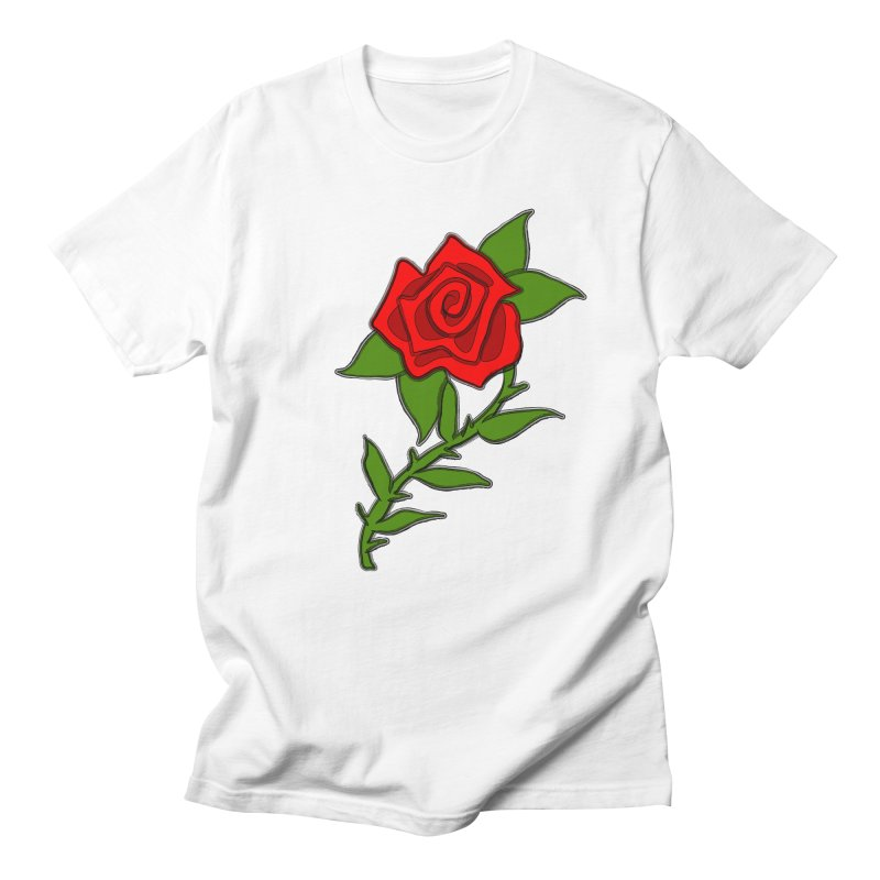 A Rose by any other name... Men's Regular T-Shirt by elledeegee's Artist Shop