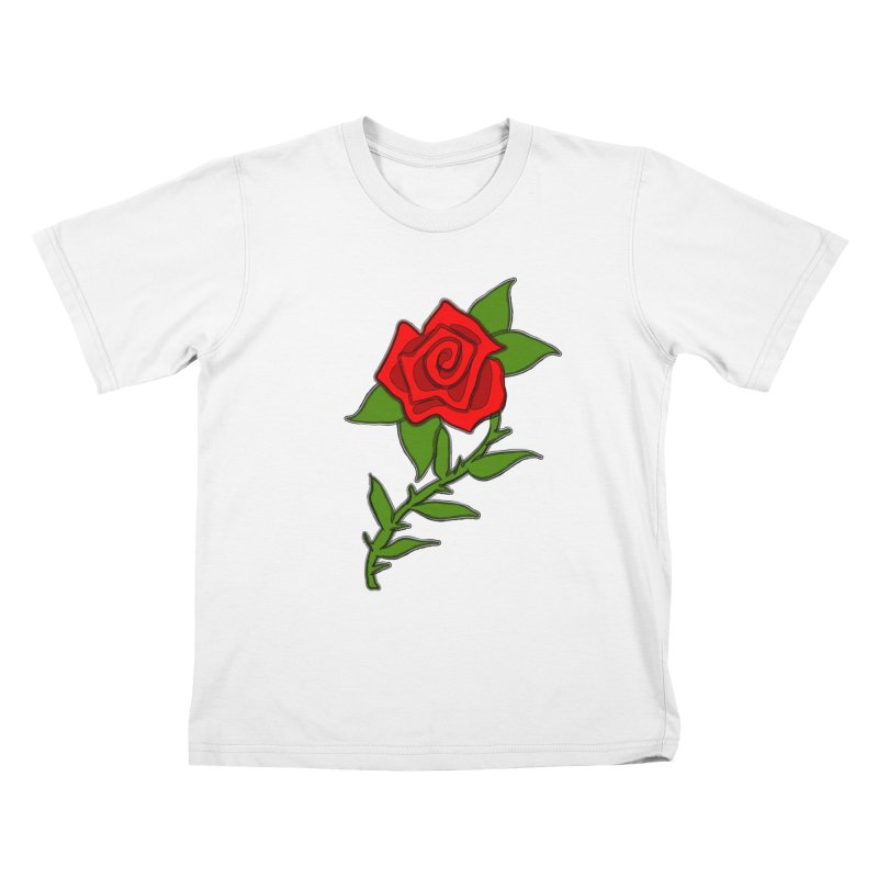 A Rose by any other name... Kids T-shirt by elledeegee's Artist Shop