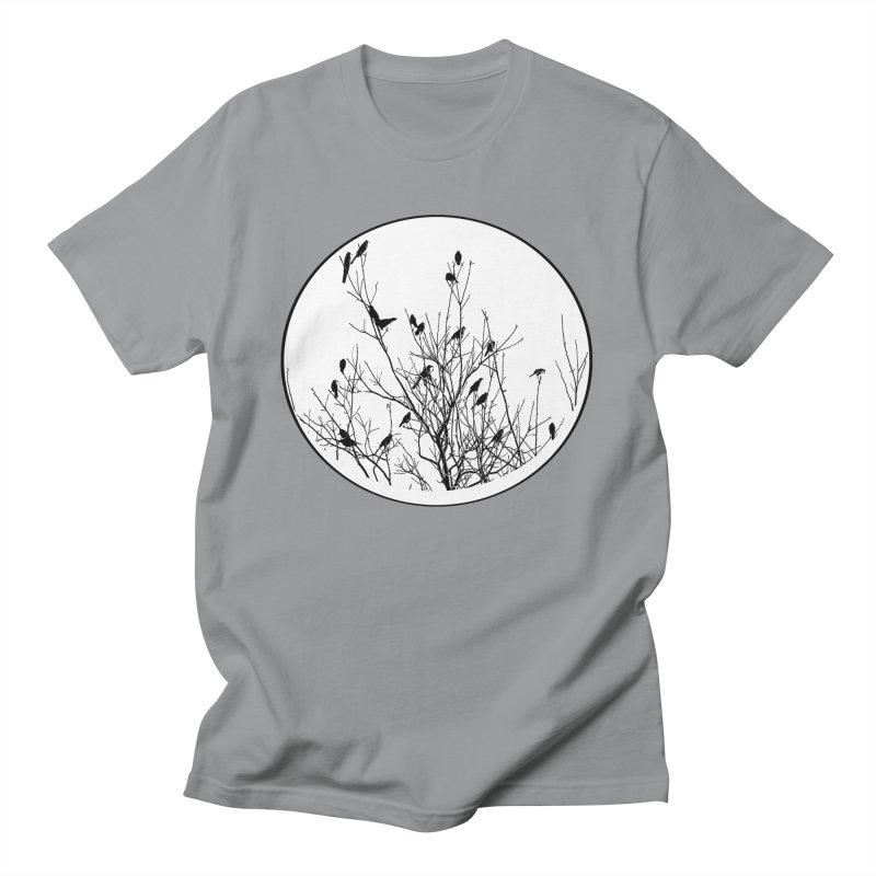 Grackle Tree Men's T-Shirt by elledeegee's Artist Shop