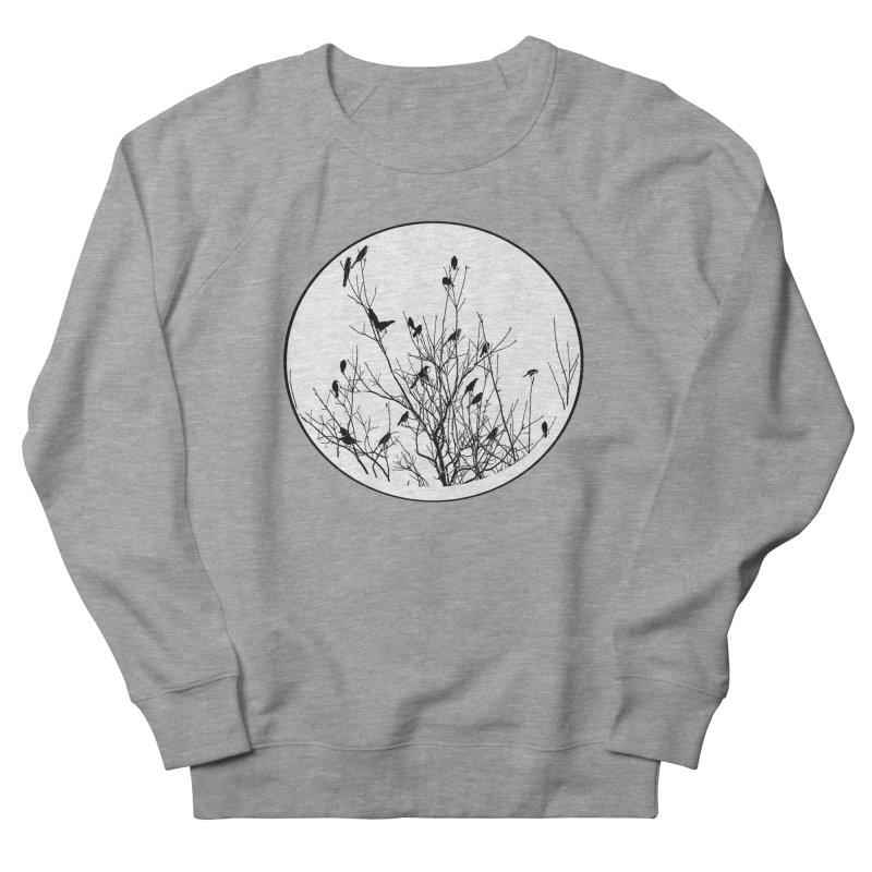 Grackle Tree Women's French Terry Sweatshirt by elledeegee's Artist Shop