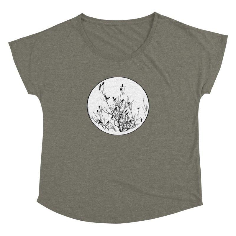 Grackle Tree Women's Dolman by elledeegee's Artist Shop
