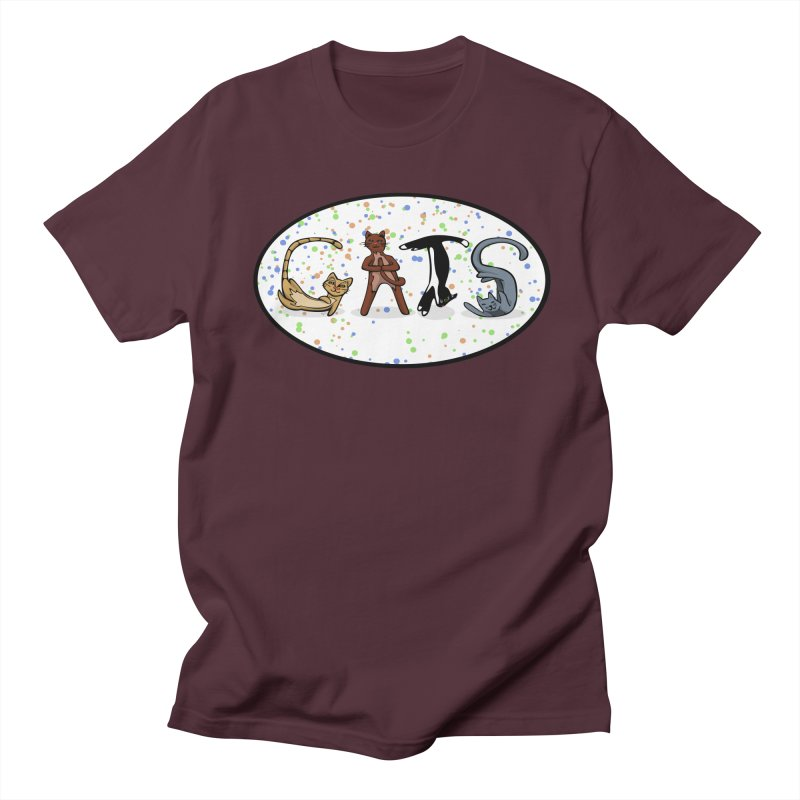 CATS can spell Men's T-shirt by elledeegee's Artist Shop