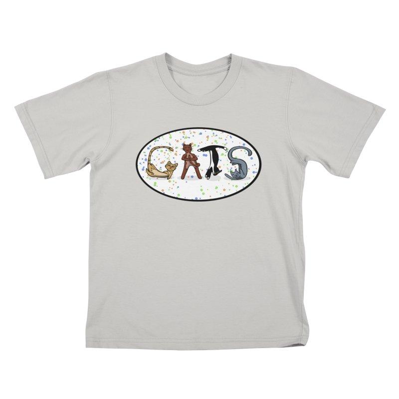 CATS can spell Kids T-shirt by elledeegee's Artist Shop