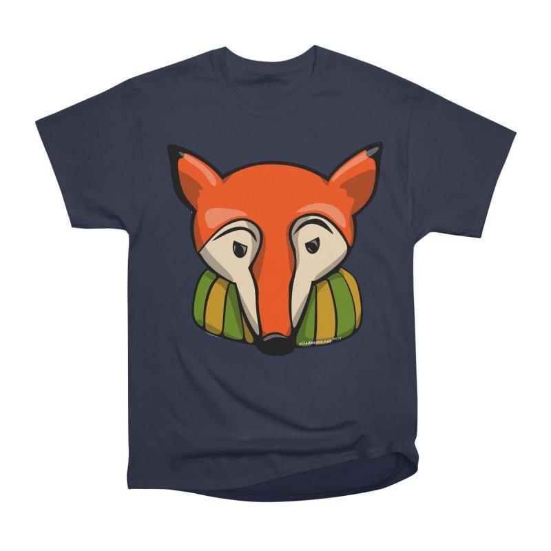 Foxy Women's Heavyweight Unisex T-Shirt by elledeegee's Artist Shop