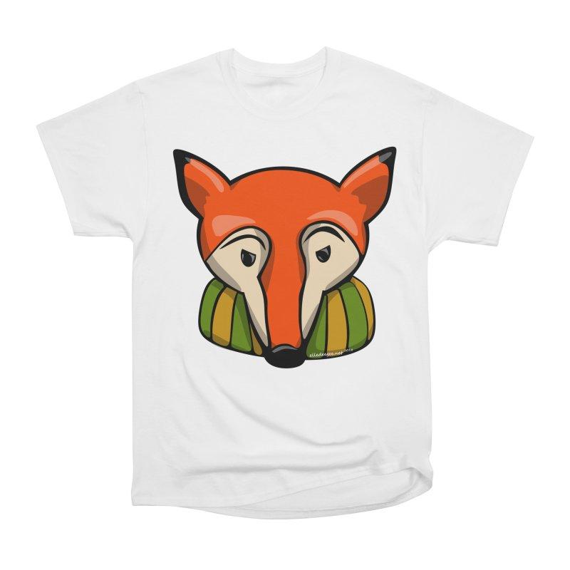 Foxy Men's Heavyweight T-Shirt by elledeegee's Artist Shop