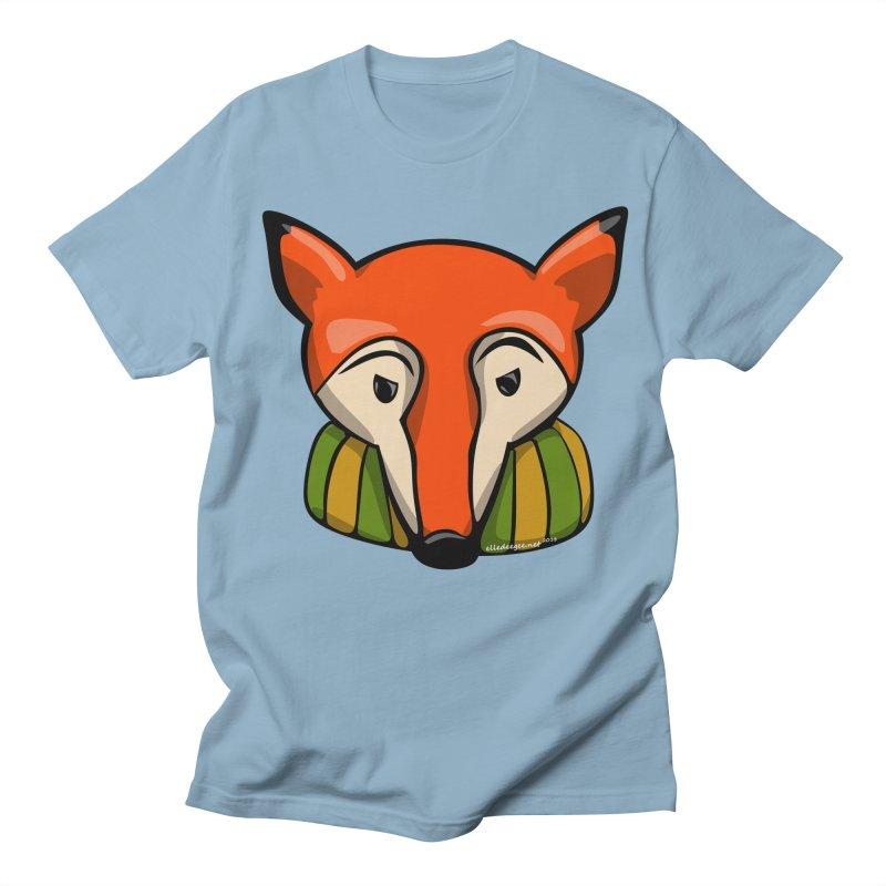 Foxy Men's T-Shirt by elledeegee's Artist Shop