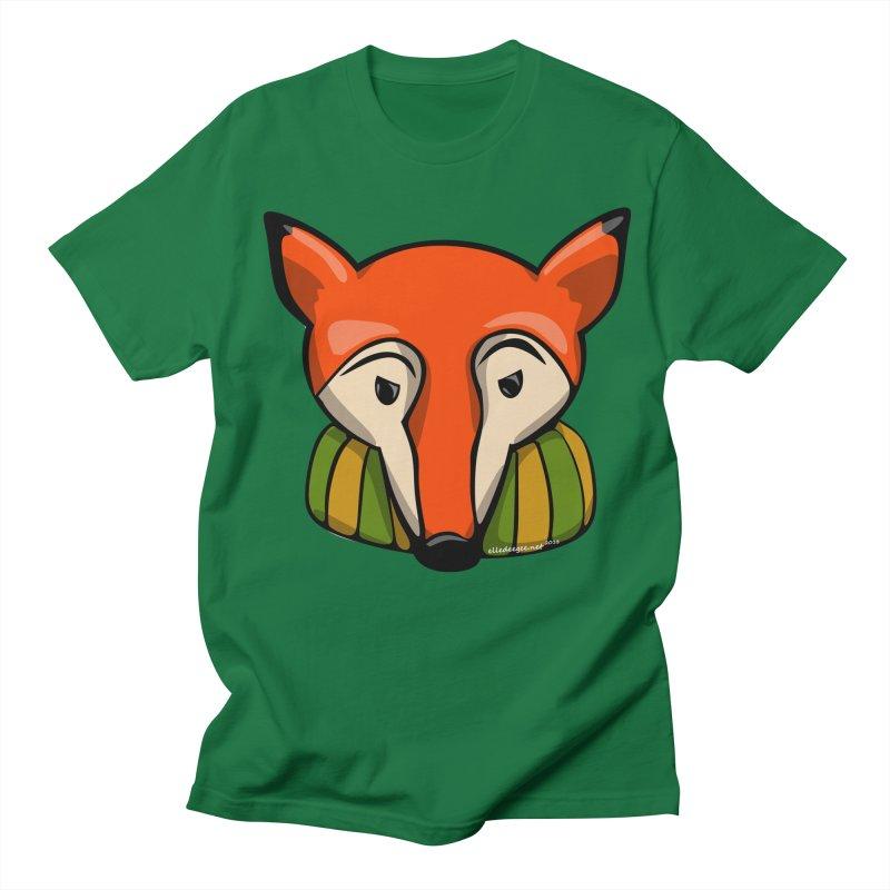 Foxy Women's Regular Unisex T-Shirt by elledeegee's Artist Shop