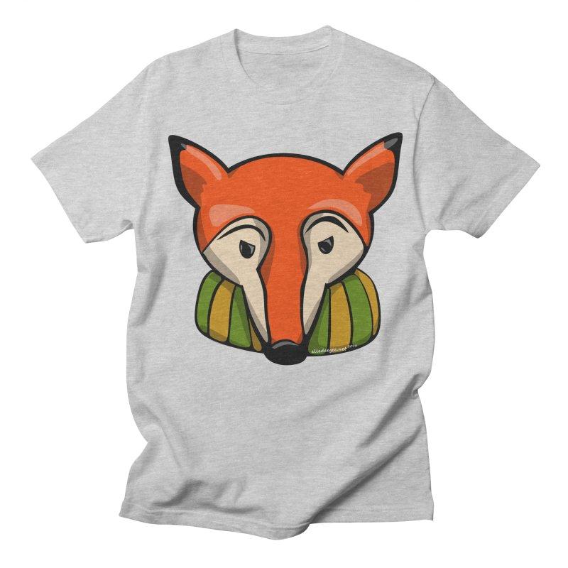 Foxy Men's Regular T-Shirt by elledeegee's Artist Shop