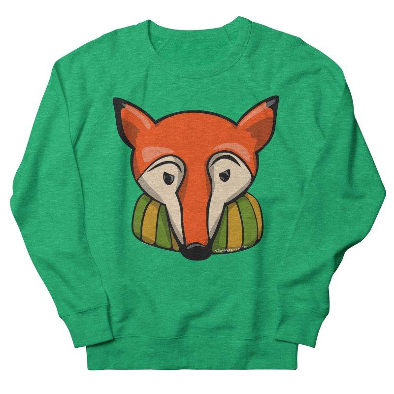 Foxy Women's French Terry Sweatshirt by elledeegee's Artist Shop