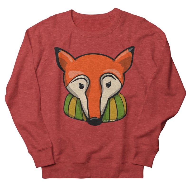 Foxy Men's French Terry Sweatshirt by elledeegee's Artist Shop