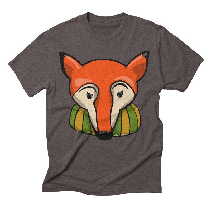 Foxy Men's Triblend T-Shirt by elledeegee's Artist Shop